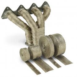 Termo izolačná páska na zvody a výfuk DEI - 25mm x 15m Titanium
