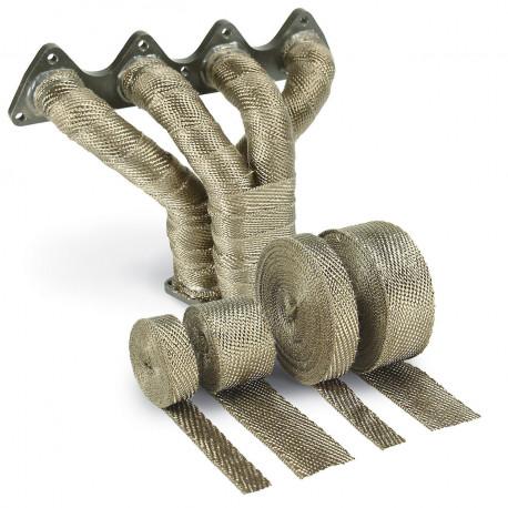 Izolačné pásky na výfuk Termo izolačná páska na zvody a výfuk DEI - 25mm x 15m Titanium | race-shop.sk