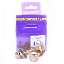 Powerflex Sada skrutiek nastavenia odklonu (12mm) Renault 19 inc 16v (1988-1996)