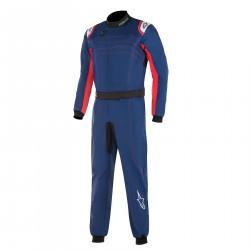 FIA Kombinéza ALPINESTARS KMX-9 V2 Blue/Red/White