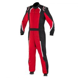 FIA Kombinéza ALPINESTARS KMX-5 kart Black/Red/White