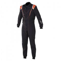 FIA Kombinéza ALPINESTARS Super KMX-1 Black/Orange