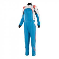 FIA/SFI Kombinéza ALPINESTARS Stella GP Pro Comp dámska Blue/White/Orange