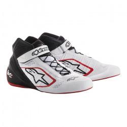 Topánky ALPINESTARS Tech-1 KZ - White/Black/Red