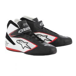 Topánky ALPINESTARS FIA Tech 1 T - Black/White/Red