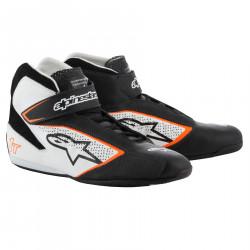 Topánky ALPINESTARS FIA Tech 1 T - Black/White/Orange