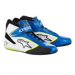 Topánky ALPINESTARS FIA Tech 1 T - Blue/White/Yellow