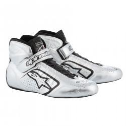 Topánky ALPINESTARS FIA Tech 1-Z - Silver/Black