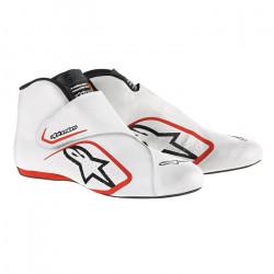 Topánky ALPINESTARS FIA Supermono - White/Red