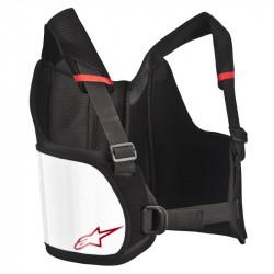 Alpinestars chránič rebier Bionic Rib - Black/White