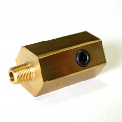 Adaptér pod olejový filter na pripojenie snímačov pre Subaru BRZ, Toyota GT86 FA20D