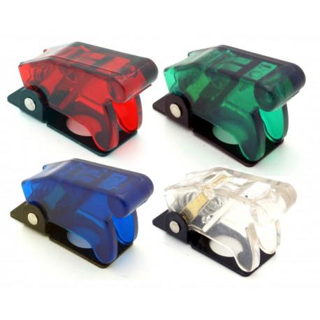 Štartovacie tlačítka a vypínače Priesvitný kryt na páčkový prepínač - rôzne farby | race-shop.sk