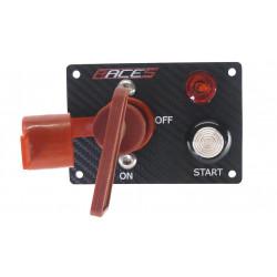 Štartovací panel RACES ISP2 carbon