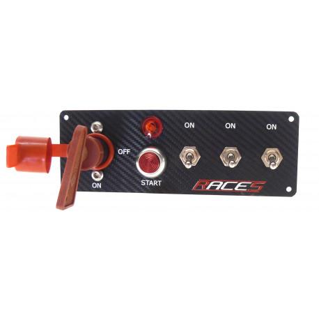 Štartovacie panely Štartovací panel RACES ISP3 carbon | race-shop.sk