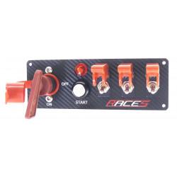 Štartovací panel RACES ISP4 carbon