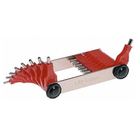 Weber trysky, trubice, vzdušníky, difuzory a náhradné diely Weber kalibrátor trysiek | race-shop.sk