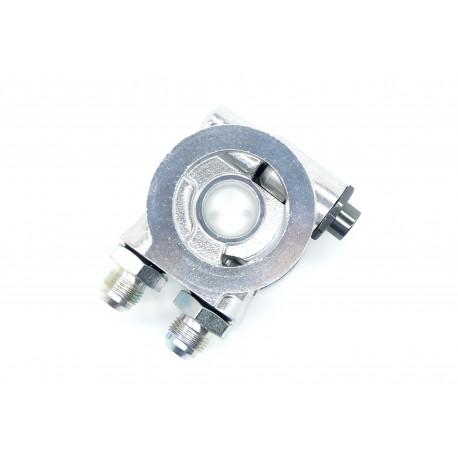 Adaptéry pod olejový filter Adaptér pod olejový filter vstup/výstup AN10 s termostatom | race-shop.sk