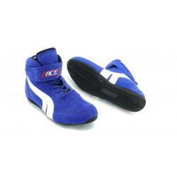 Topánky RACES low modré