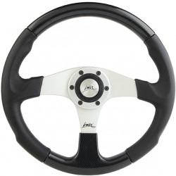 Športový volant Luisi Evolution 2, 360mm, ekokoža, bez odsadenia