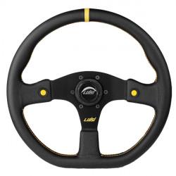 Športový volant Luisi Stealth Corsa HP, 355mm, koža, 42mm odsadenie
