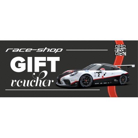 Darčekové poukážky Darčekový poukaz na nákup za 150€ | race-shop.sk