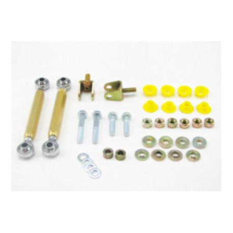 Whiteline Whiteline Sway bar - link kit 50mm lift adj spherical rod M/SPORT, predná náprava | race-shop.sk