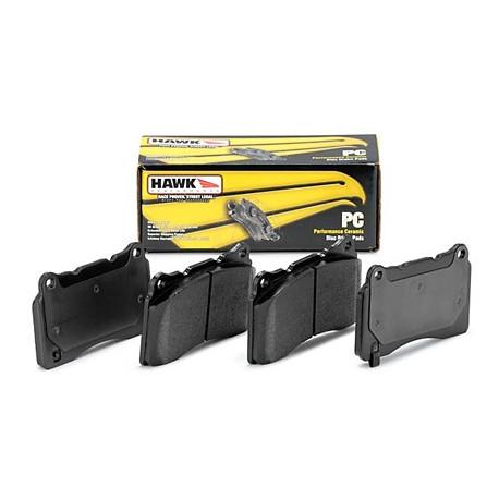 Brzdové dosky HAWK performance Zadné brzdové dosky Hawk HB145Z.570, Street performance, min-max 37°C-350°C   race-shop.sk