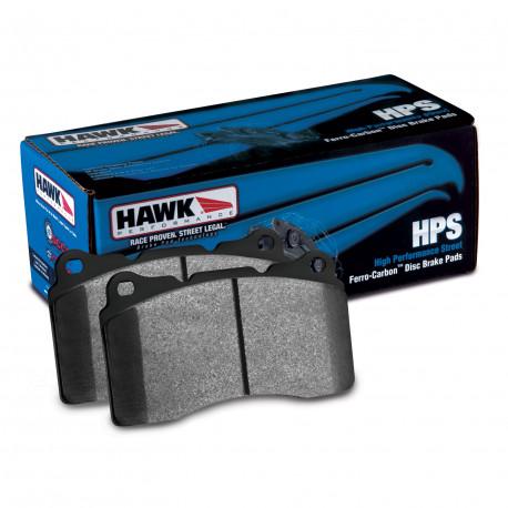 Brzdové dosky HAWK performance Predné brzdové dosky Hawk HB155F.580, Street performance, min-max 37°C-370°C | race-shop.sk
