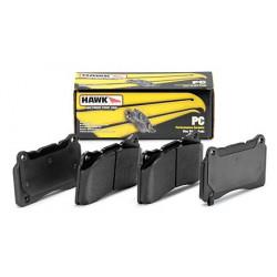 Predné brzdové dosky Hawk HB180Z.640, Street performance, min-max 37°C-350°C