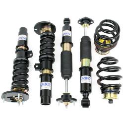 Športový výškovo a tuhostne nastaviteľný podvozok HSD Dualtech pre BMW 3 Series E46 Non M3 98-05