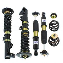 Športový výškovo a tuhostne nastaviteľný podvozok HSD Dualtech pre BMW Z3 96-02