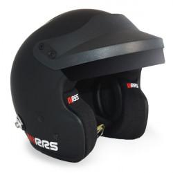 Prilba RRS JET PROTECT PREMIUM BLACK s FIA 8859-2015, Hans