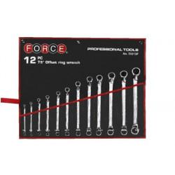FORCE 12 dielna sada očkoplochých kľúčov