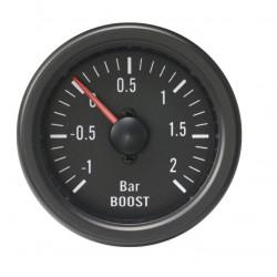 Budík RACES Classic - tlak turba