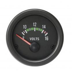Budík RACES Classic - Dobíjanie (voltmeter)