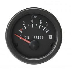 Budík RACES Classic - tlak oleja