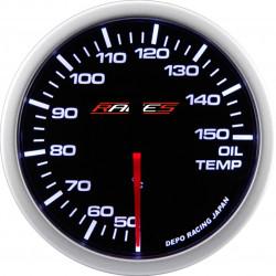 Budík RACES Clubman - Teplota oleja