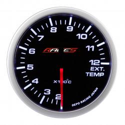 Budík RACES Clubman - Teplota výfukových plynov