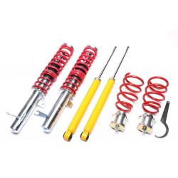 Športový výškovo nastaviteľný podvozok TA-Technix na Ford Focus, DAW,DBW,DFW,DAX,DBX,DA1,DB1, 98-04