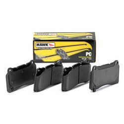 Zadné brzdové dosky Hawk HB458Z.642, Street performance, min-max 37°C-350°C