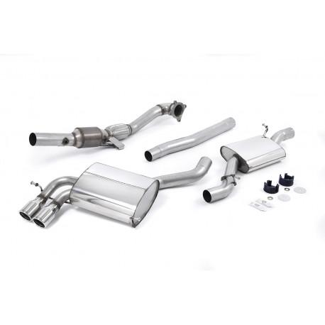 Výfukové systémy Milltek Milltek výfuk Od turba so športovými katalyzátorom pre Audi S3 2 T 2007-2012 | race-shop.sk