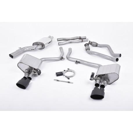 Výfukové systémy Milltek Cat-back Milltek výfuk pre Audi S5 3 TFSI 2009-2011 | race-shop.sk