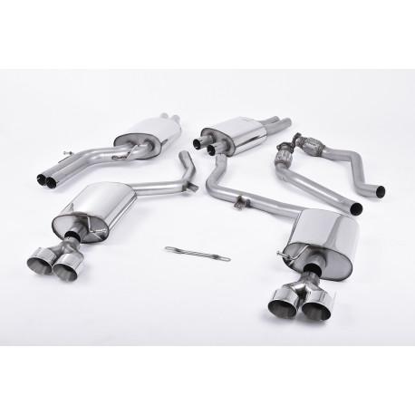 Výfukové systémy Milltek Cat-back Milltek výfuk pre Audi S5 3 TFSI 2012-2021   race-shop.sk