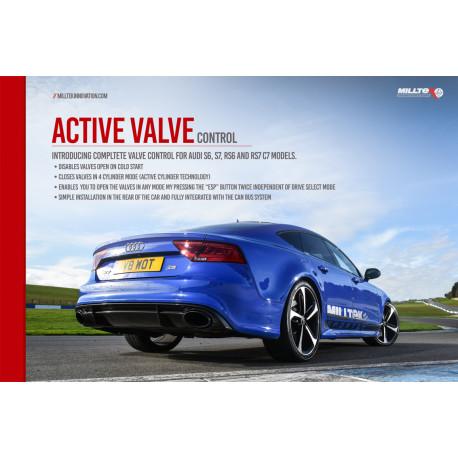 Výfukové systémy Milltek Active Valve Control Milltek Audi S5 3 V6 2017-2021 | race-shop.sk