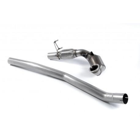 Výfukové systémy Milltek Zväčšený Downpipe so športovým katalyzátor Milltek Audi TT Mk3 TTS 2.0TFSI 2015-2021   race-shop.sk