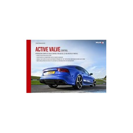 Výfukové systémy Milltek Active Valve Control Milltek Audi TT Mk3 TTRS 2.5TFSI 2019-2021 | race-shop.sk