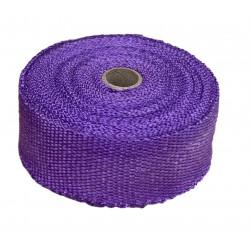 Termo izolačná páska na zvody a výfuk, fialová 50mm x 10m x 1mm