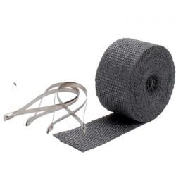 Termo izolačná páska na zvody a výfuk DEI - 5 cm x 7,5 m Black + sťahovacie pásky