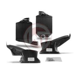 Comp. Gen.2 Intercooler Kit Audi S4 B5 A6 2,7T + carbon air shroud