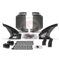 Comp. Gen.2 Intercooler Kit Audi RS6 C5+ carbon air shroud
